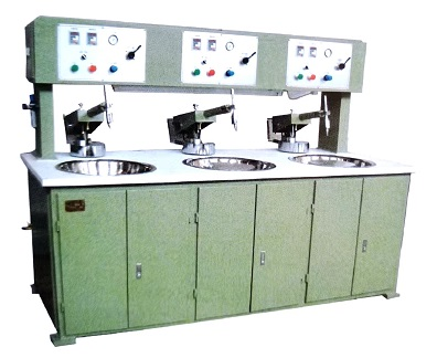 Three Spindles Lens Grinding & Polishing Machine