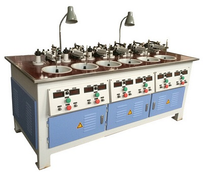 Six Spindles Lens Grinding & Polishing Machine