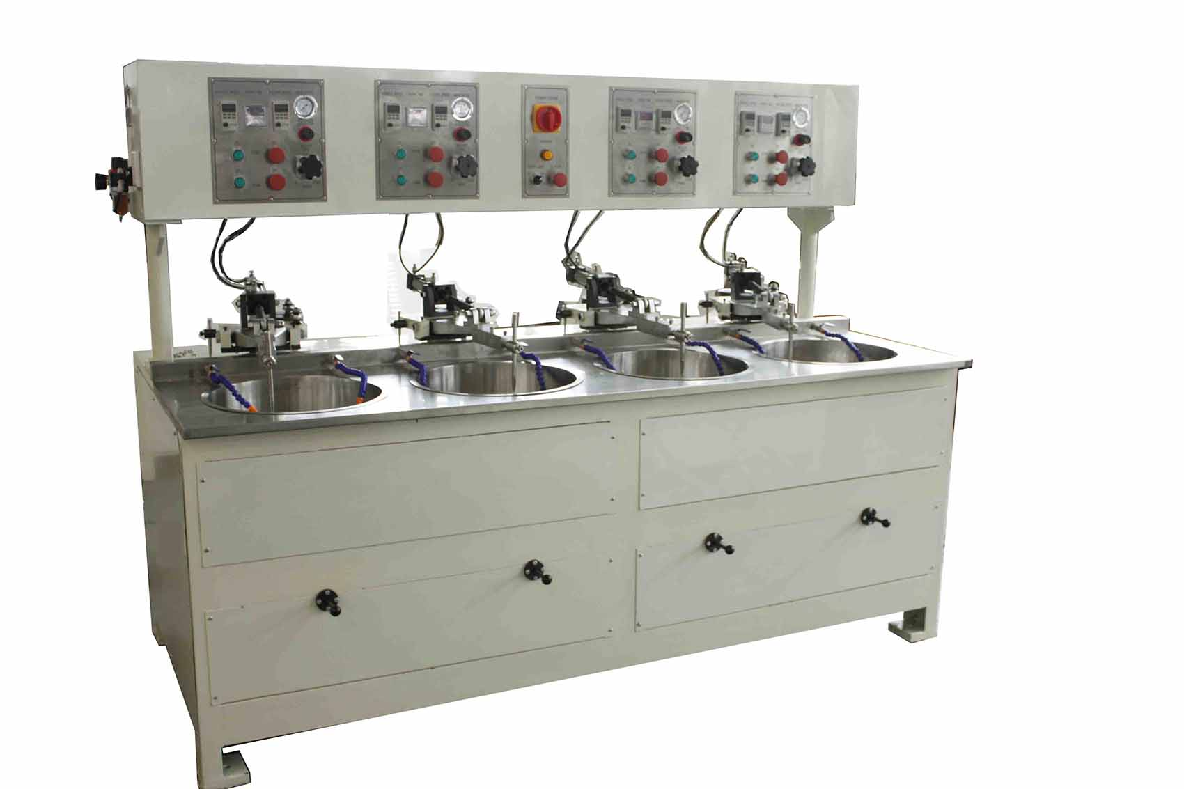 Four Spindles Lens Grinding & Polishing Machine